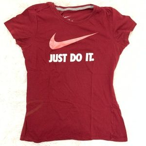 Nike Slim Fitted Tee Just Do It M